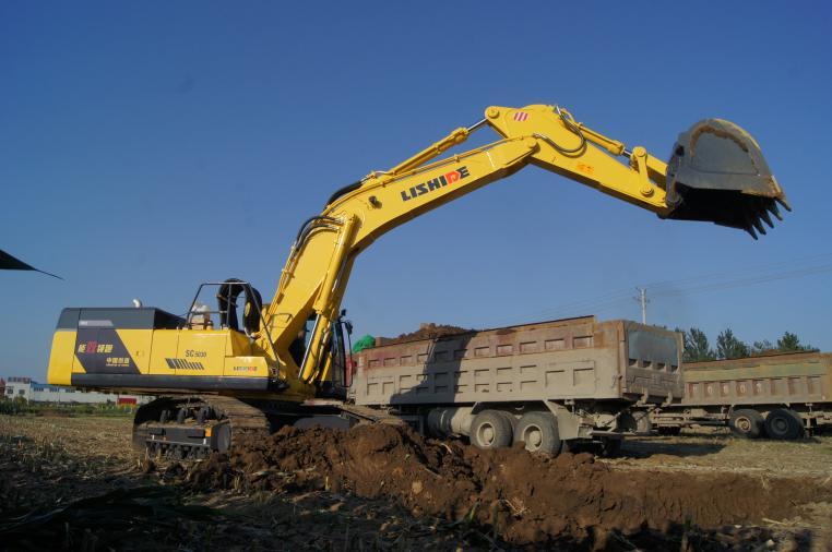 高能效挖掘机