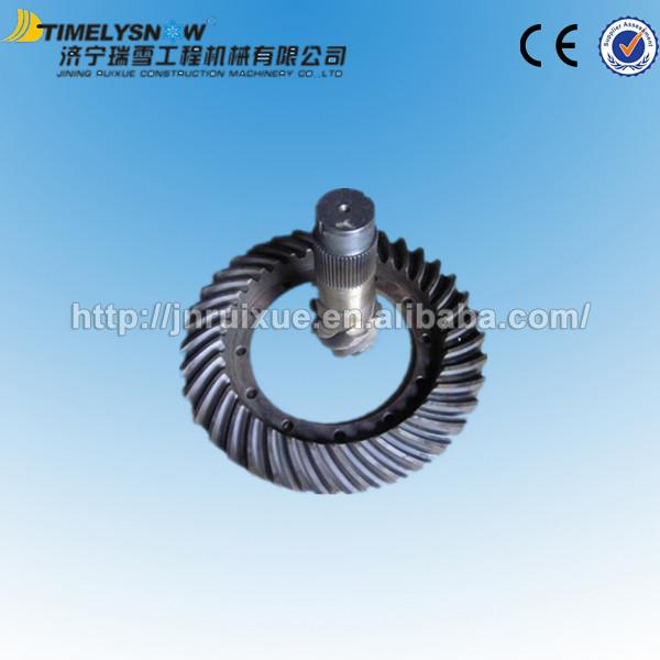bevel gear and shaft 800302324 for xcmg road roller spare parts