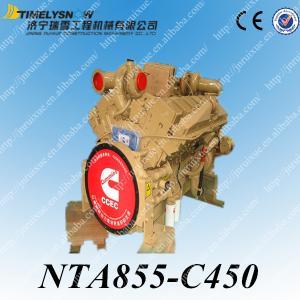 NTA855-C450 двигатель в сборе