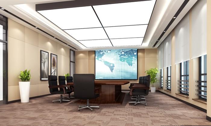 烟台泉清大厦办公楼-会议室