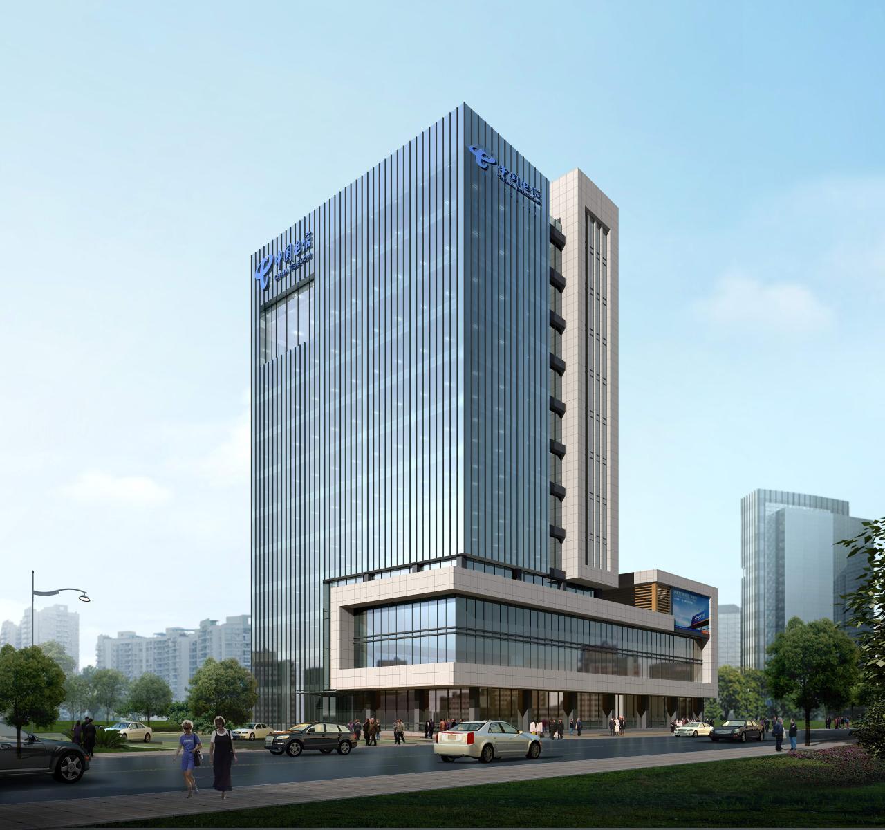 呼和浩特化工科技大厦