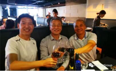 集团宋健副总经理赴澳拜访飞龙门窗客户