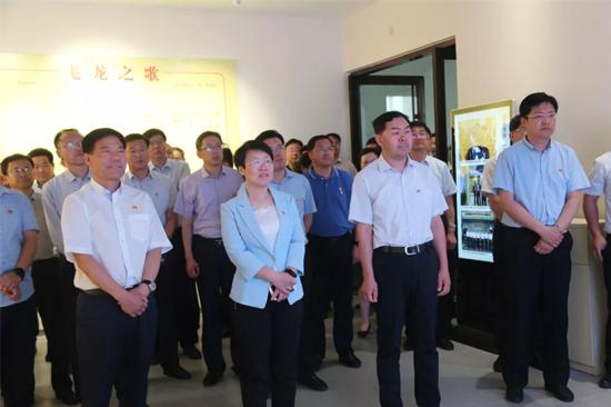 飞龙集团党委迎接全市基层党建工作观摩