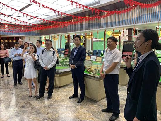 香港港旌同盟协进会莅临集团参观考察