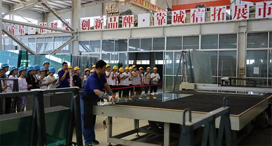 烟台大学土木工程学院学生到集团公司开展工程实训