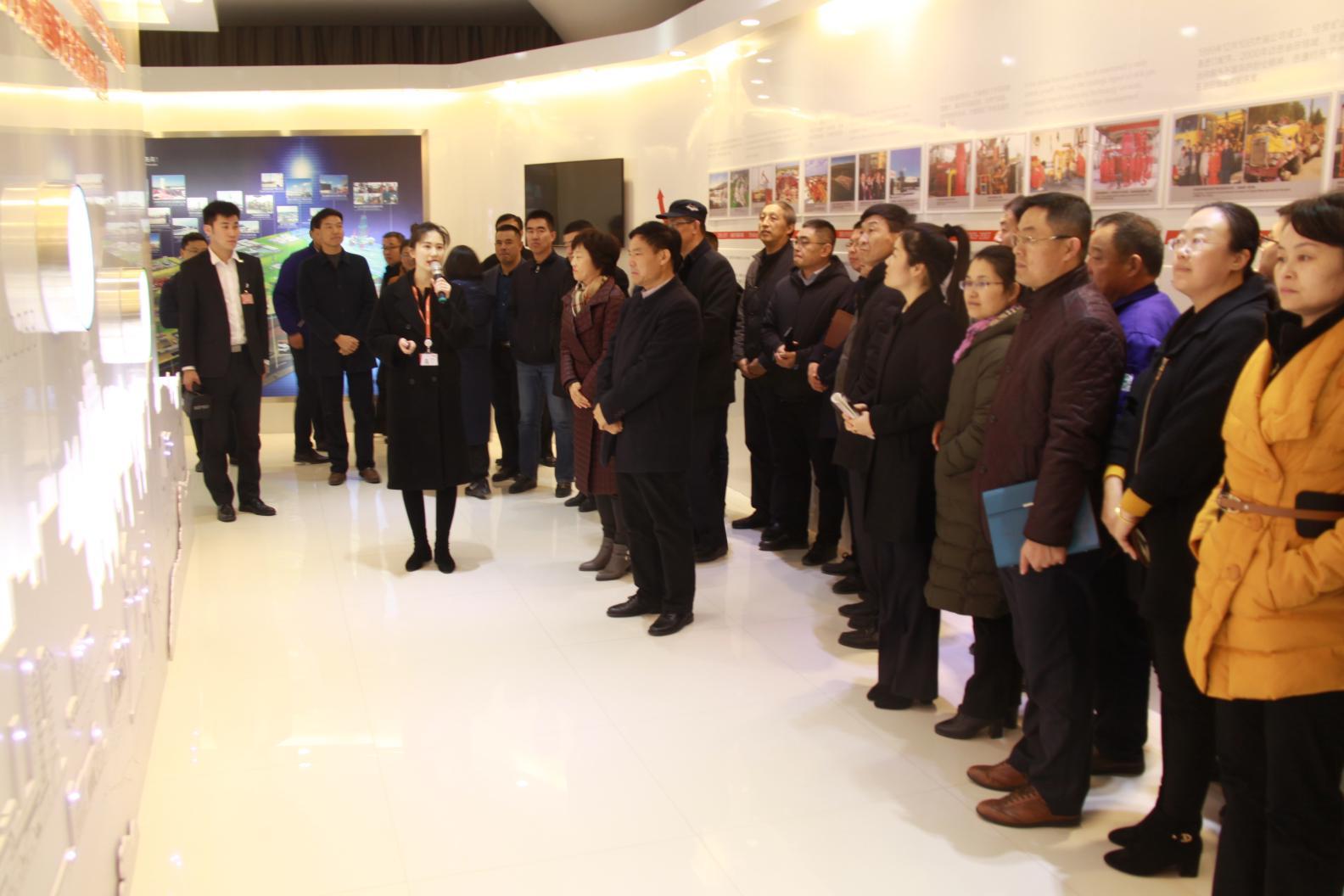 2018年12月集团公司职工参观杰瑞集团