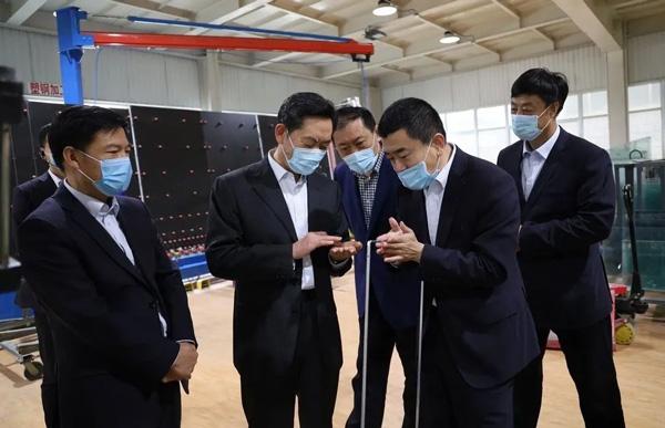 烟台市委常委、统战部部长金志海到企业调研