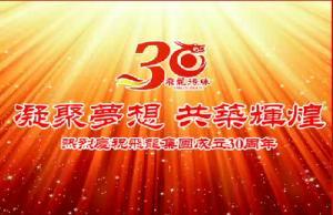 凝聚梦想 共筑辉煌--飞龙集团成立30周年庆典隆重召开