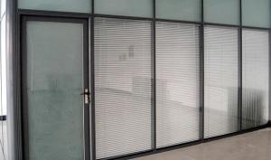 100系列铝合金中空玻璃内置百叶隔断