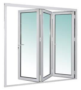 Z70 series aluminum alloy hollow glass folding door