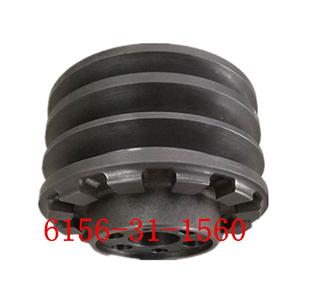 6156-31-1560-400-8-曲轴皮带轮