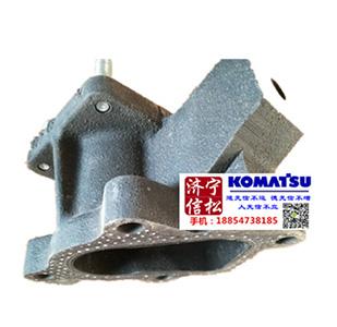 PC56发动机件法兰 KT19830-123-0  涡轮增压器连接消音器