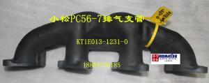 小松56-7排气支管 KT1E013-1231-0
