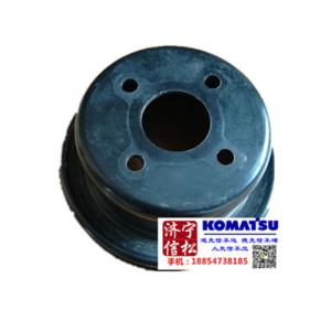供应小松挖掘机PC56发动机件风扇皮带轮KT1K411-7425-0