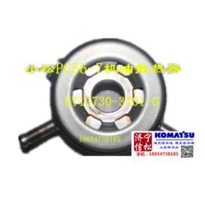 供应小松挖掘机PC 56发动机件机油散热器KT1G730-3701-0