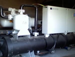 大连长兴岛海参养殖场--海水源热泵机组