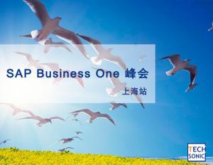 SAP Business One峰会(上海站)