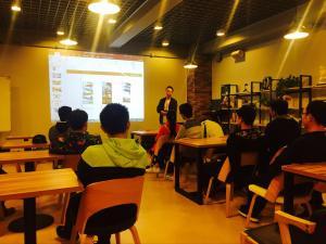 杰瑞头条 | 烟台大学土木工程专业参观公司了解互联网行业发展