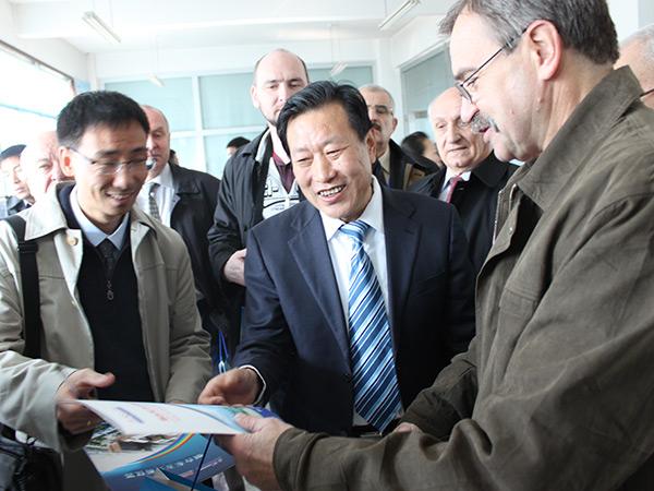 2012年11月俄专家来访及记者采访