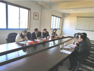 投資促進中心領導蒞臨東儀集團舉行助力企業發展的專項交流座談會