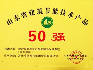 2014年度山东省50强
