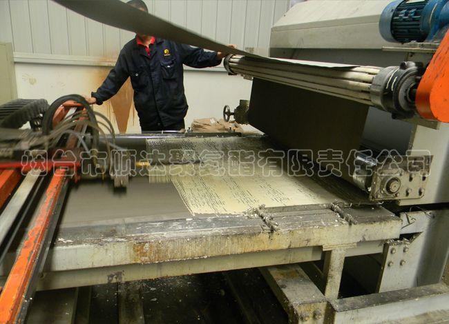 连续板材用硬泡聚氨酯材料