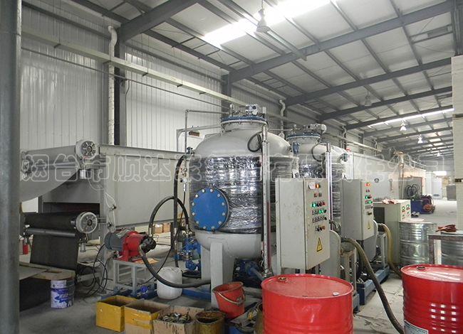 聚氨酯复合板材生产线