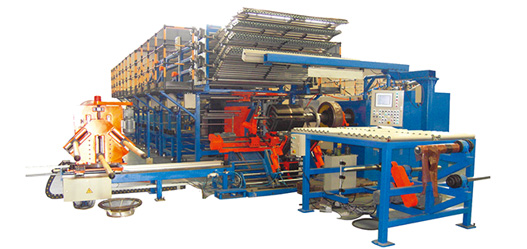 Agriculture Radial Tyre Building Machine 1 st stage