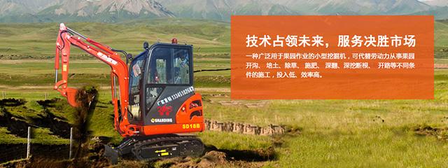 山鼎小挖机技术占领未来 服务决定市场
