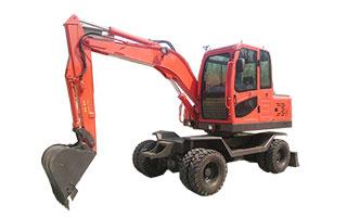 SD65W-8轮胎式挖掘机