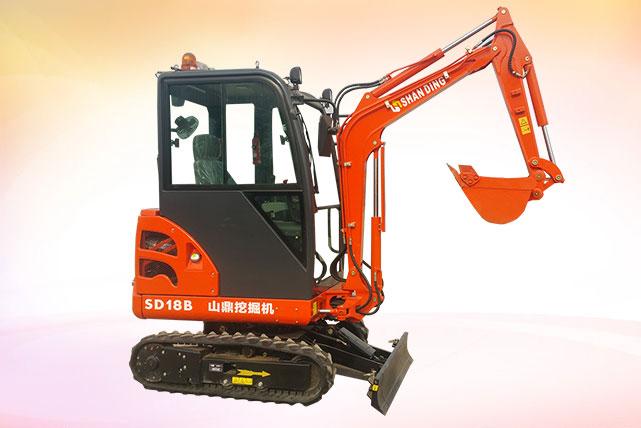 SD18B微型小挖掘机
