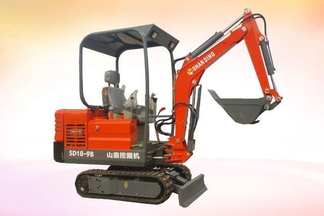 SD18-9B微型挖机