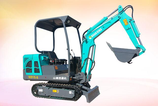SD15-9微小型挖掘机