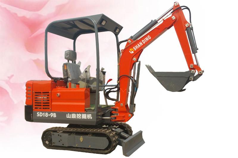 SD18-9B小挖机
