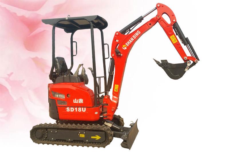 SD18U小挖机