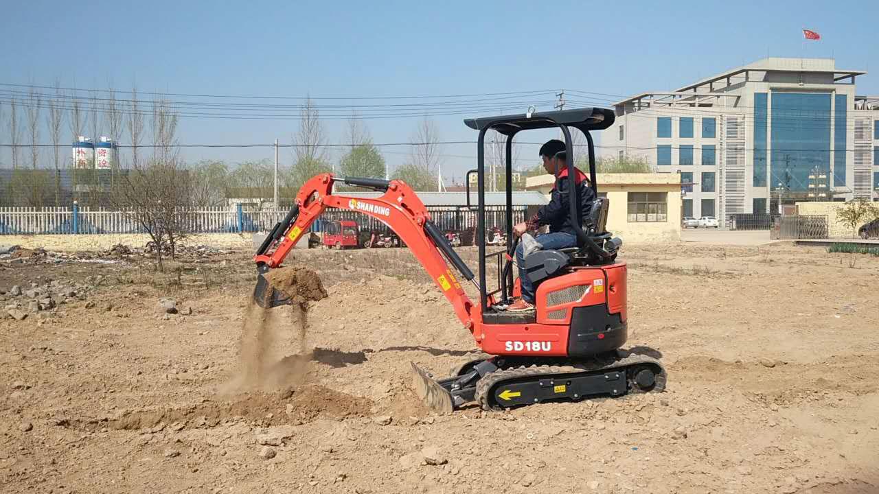 2018进口无尾小型挖掘机