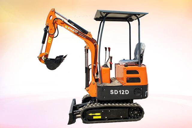 SD12D微型小挖机