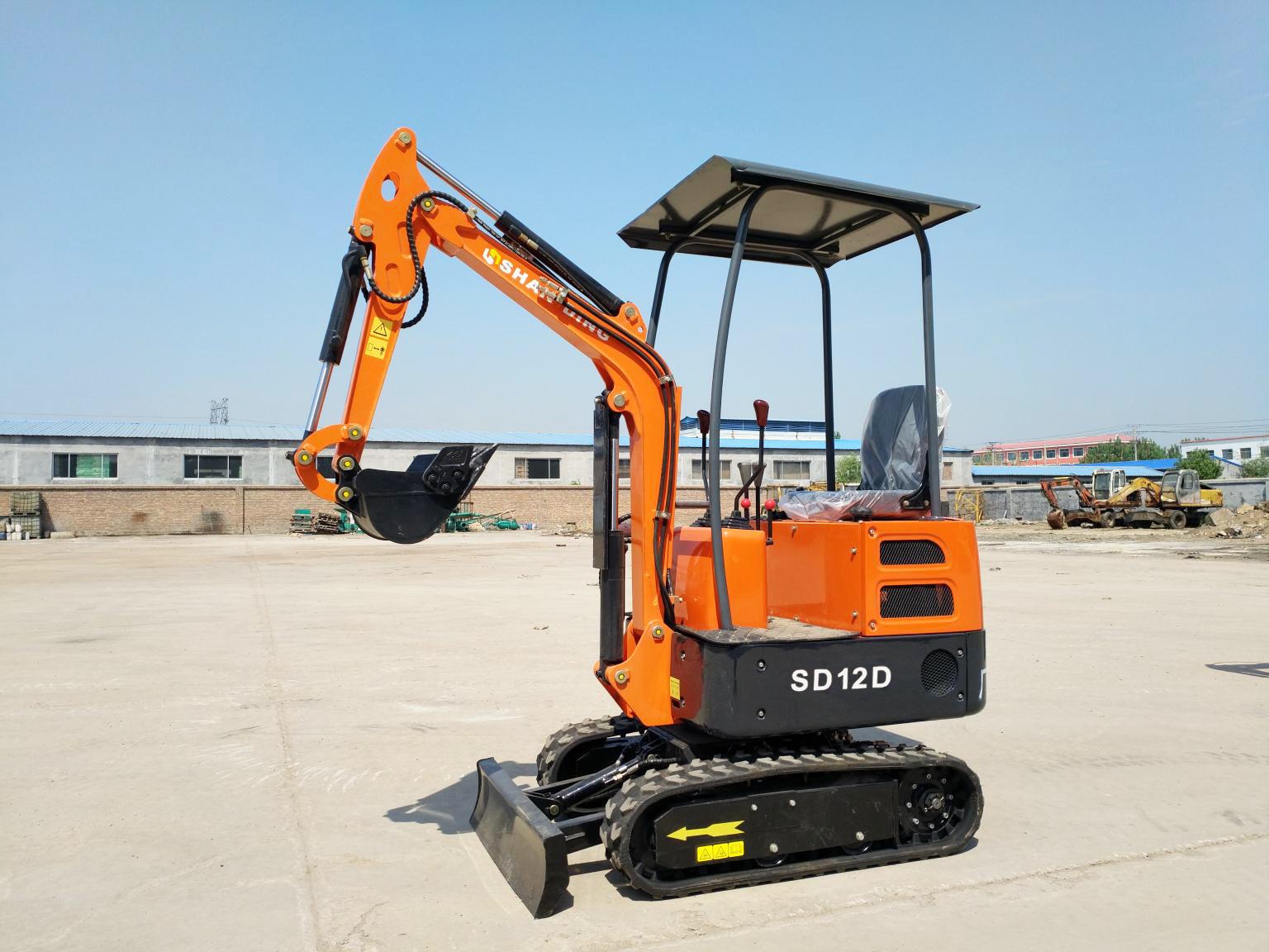 SD12D小型挖机价格