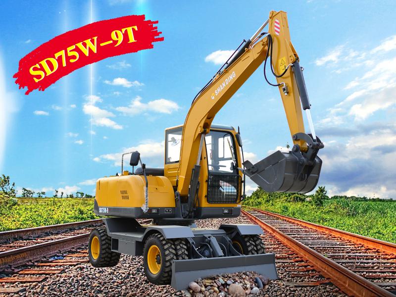 SD75-9轮式挖掘机