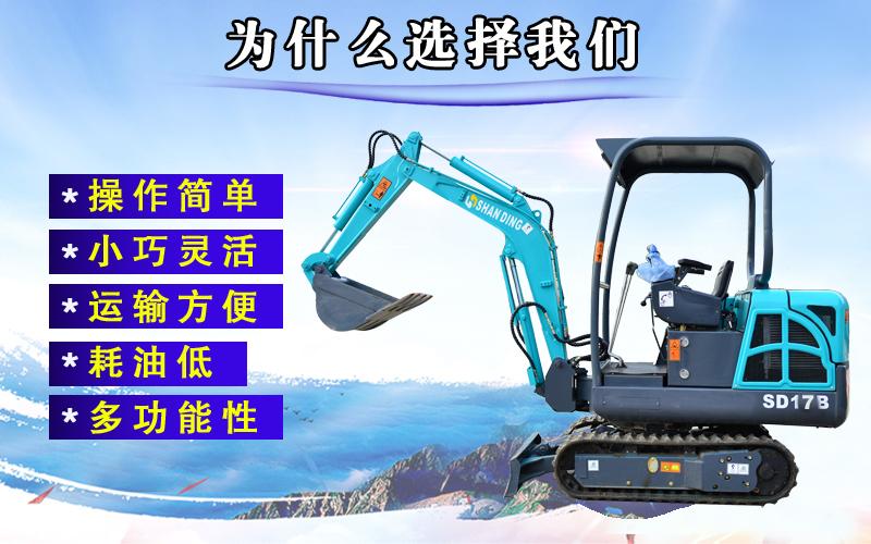 SD17B小型挖掘机