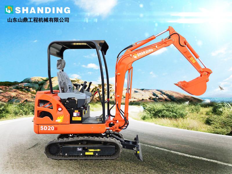 SD20B小挖机
