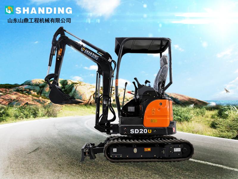 SD20U小挖机