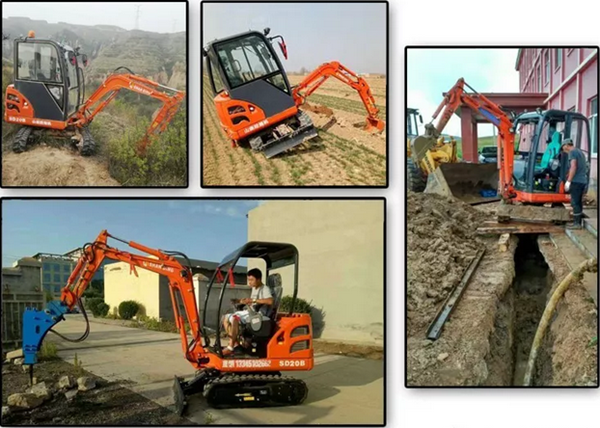 山东山鼎小型挖掘机安全驾驶小常识