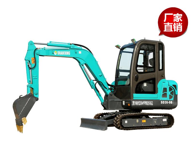 SD30-9B小型挖掘机