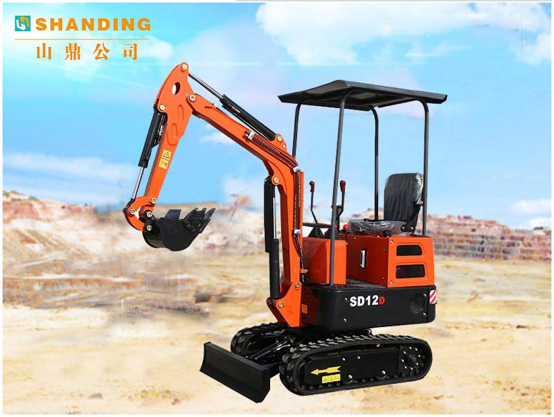 SD12D小挖机