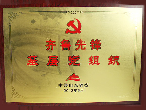 Qilu Pioneer Grass-roots Party Organization